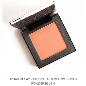 •Urban Decay Afterglow blush- Indecent•.